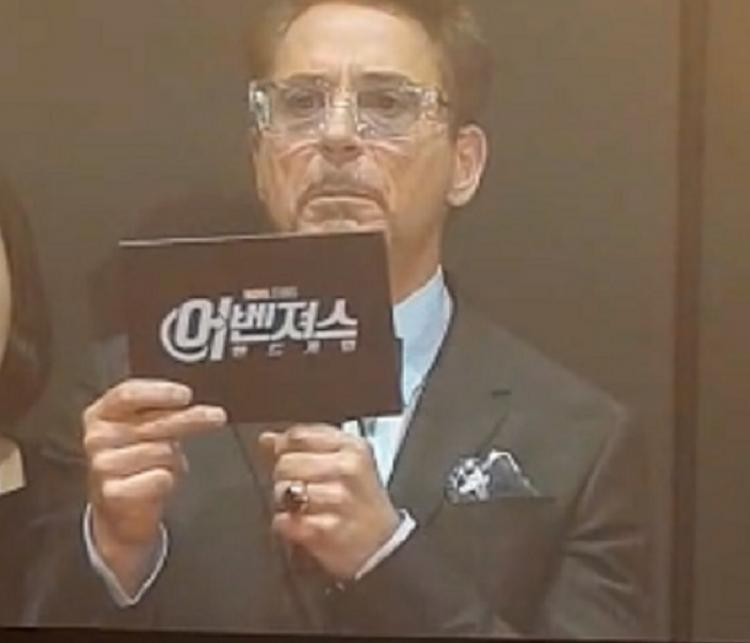 Avengers: Endgame star Robert Downey Jr's fan gets emotional as he reads her message for him in Seoul; WATCH