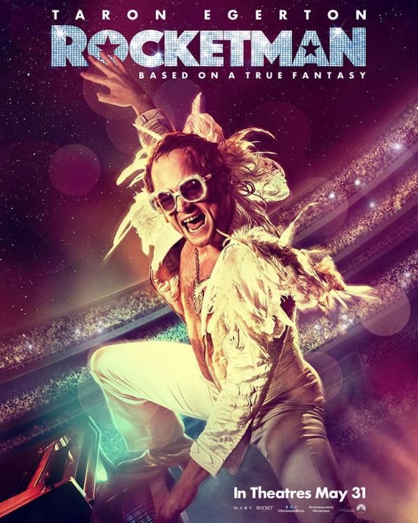 Taron Egerton is the apt choice to bring Elton John's larger than life personality on-screen in Rocketman.