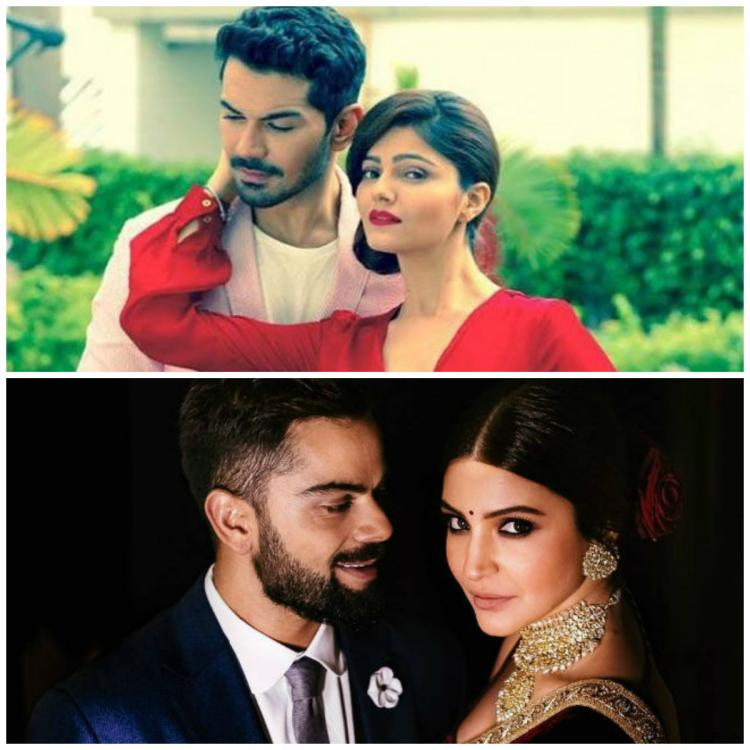 Rubina Dilaik and Abhinav Shukla's wedding card has a Virushka