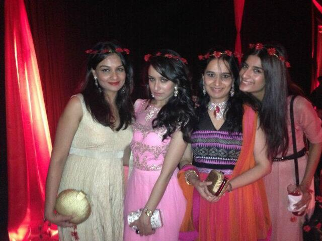 Shraddha Kapoor Spotted With Family