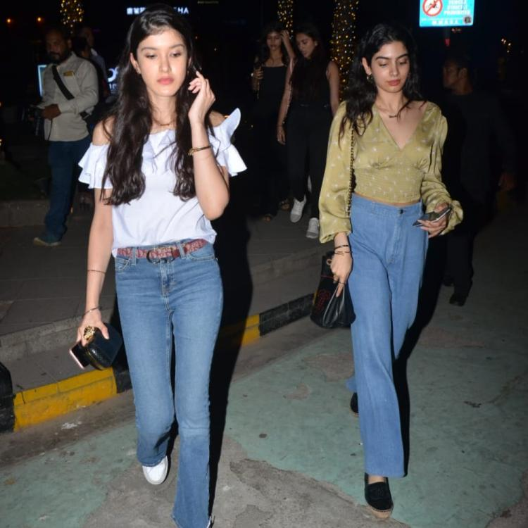 PHOTOS: Khushi Kapoor and Shanaya Kapoor are giving major sibling goals as they go out for dinner