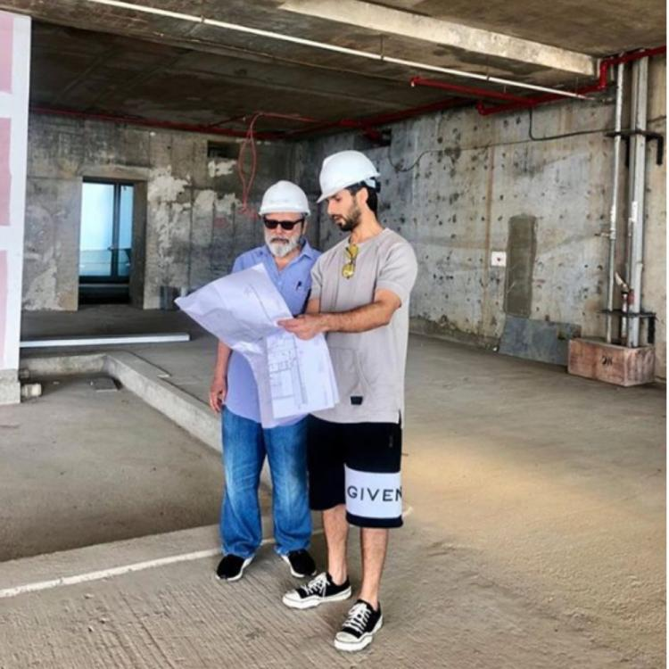 Shahid Kapoor shares an adorable moment with father Pankaj Kapoor; see pics