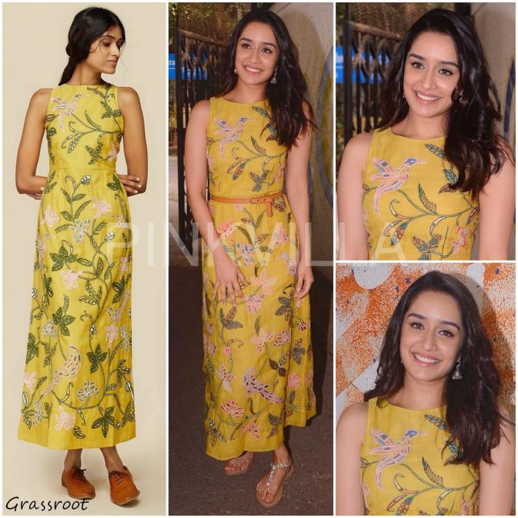 Celebrity Style,shraddha kapoor,Grassroot,Grassroot by Anita Dongre