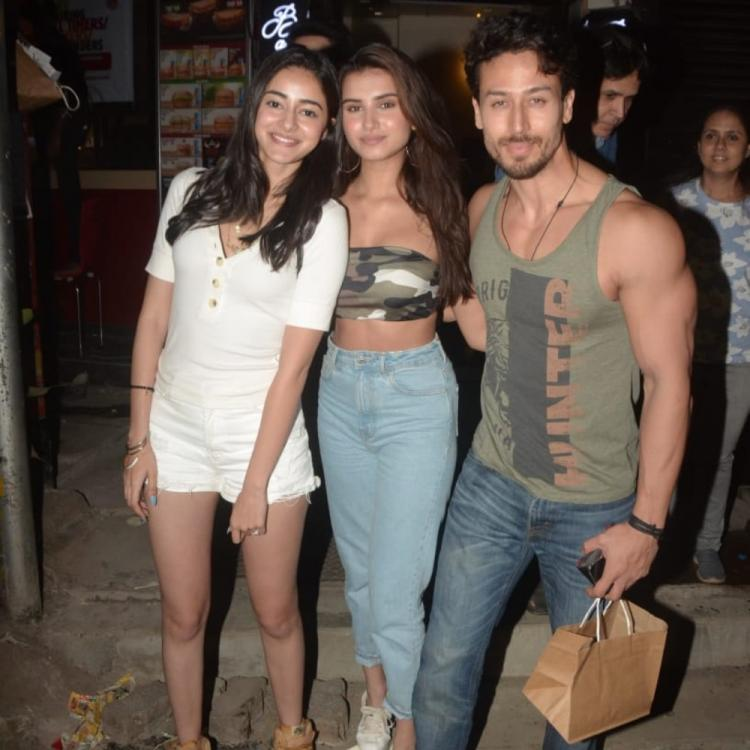 PHOTOS: SOTY 2 actors Tiger Shroff, Ananya Panday & Tara Sutaria get together for a party post film's release