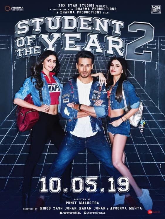Tiger Shroff is all praises for SOTY2 co-stars Tara Sutaria and Ananya Pandey