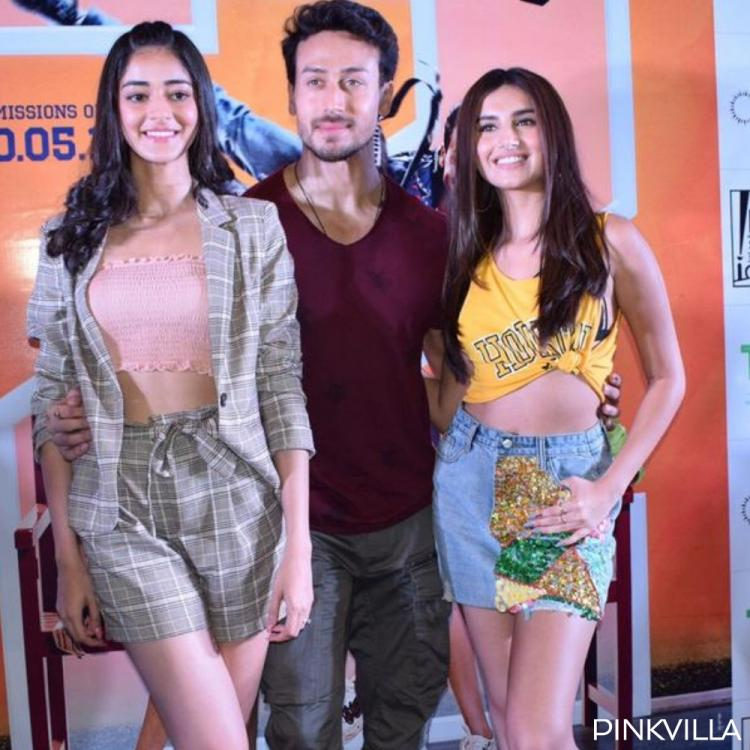 Student Of The Year 2: Tiger Shroff, Ananya Panday & Tara Sutaria groove together during promotions in Gujarat