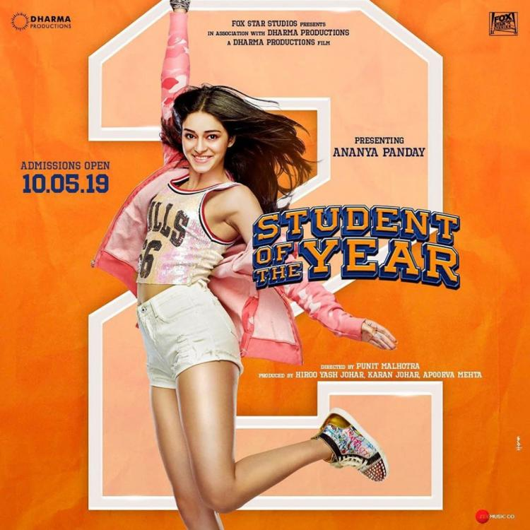 Karan Johar reveals the drool worthy first look of Ananya Panday from SOTY 2; See Pic