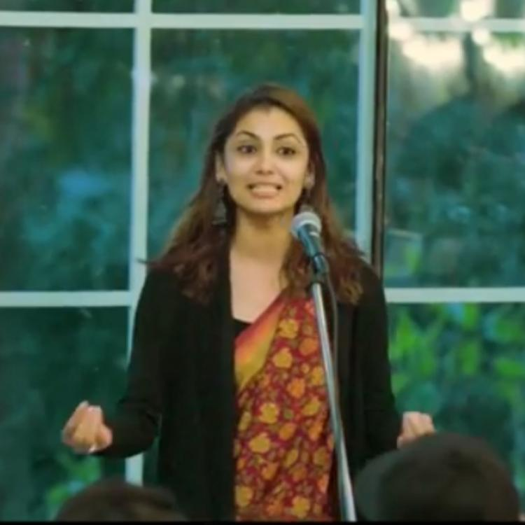 Kumkum Bhagya star Sriti Jha aka Pragya impresses the audiences with her latest poem; WATCH video