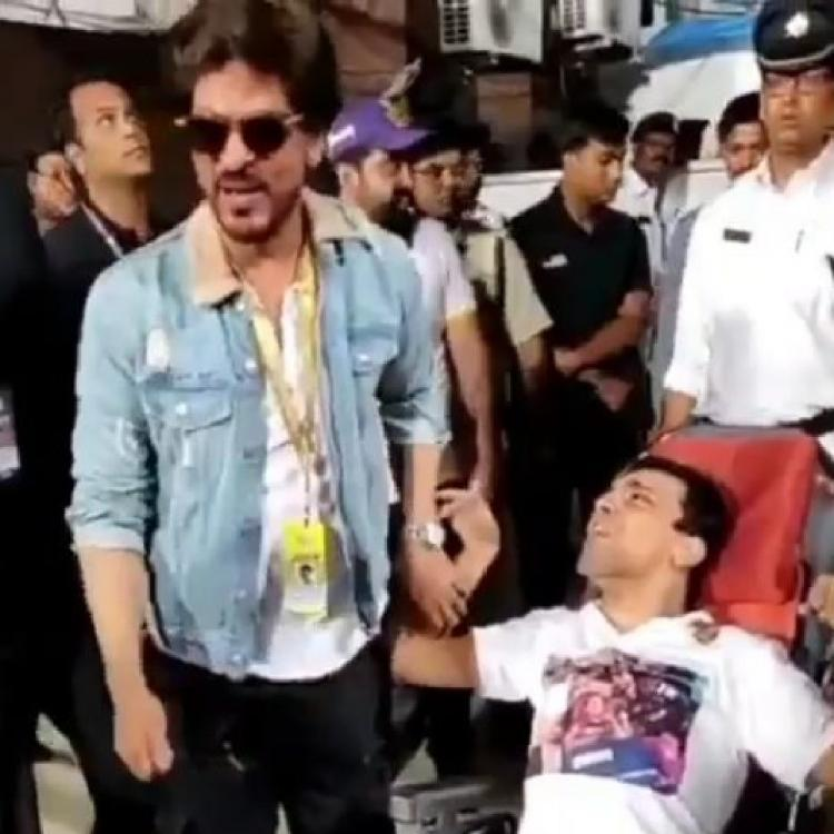 Shah Rukh Khan's heartwarming gesture for a special fan at the IPL 2019 KKR match will leave you overwhelmed