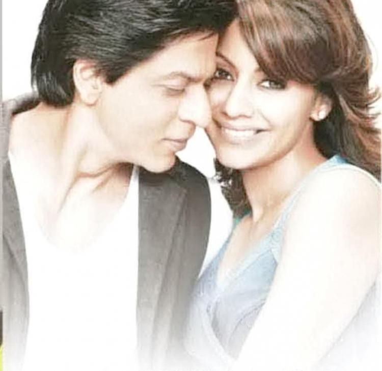 Image result for SRK and gauri in decor add