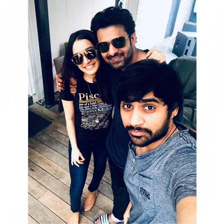 Shraddha Kapoor treats her Saaho co star Prabhas and team with special home made delicacies