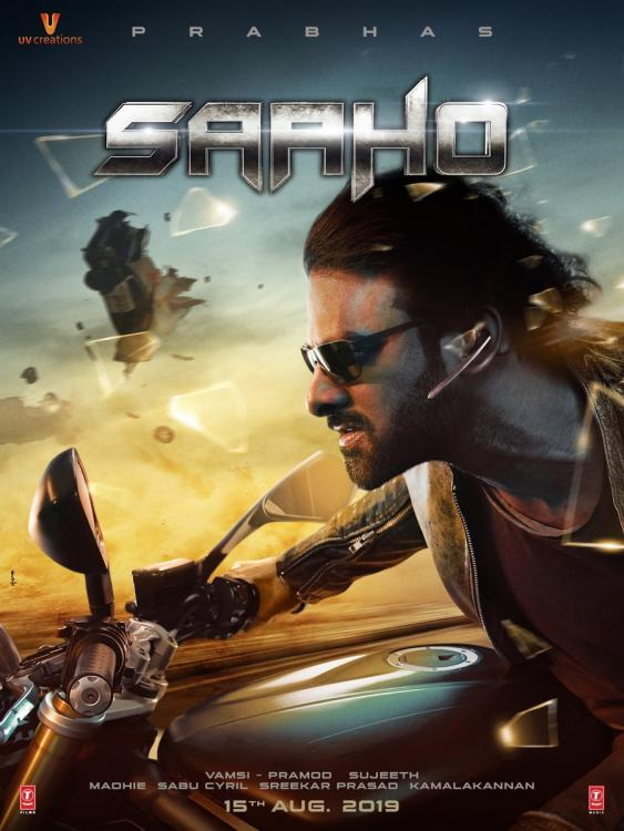 Image result for saaho poster""