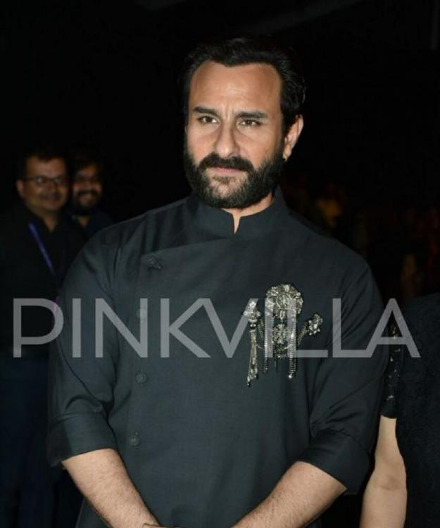 Saif Ali Khan shoots for a song as the antagonist in Ajay Devgn and Kajol starrer Taanaji: The Unsung Warrior