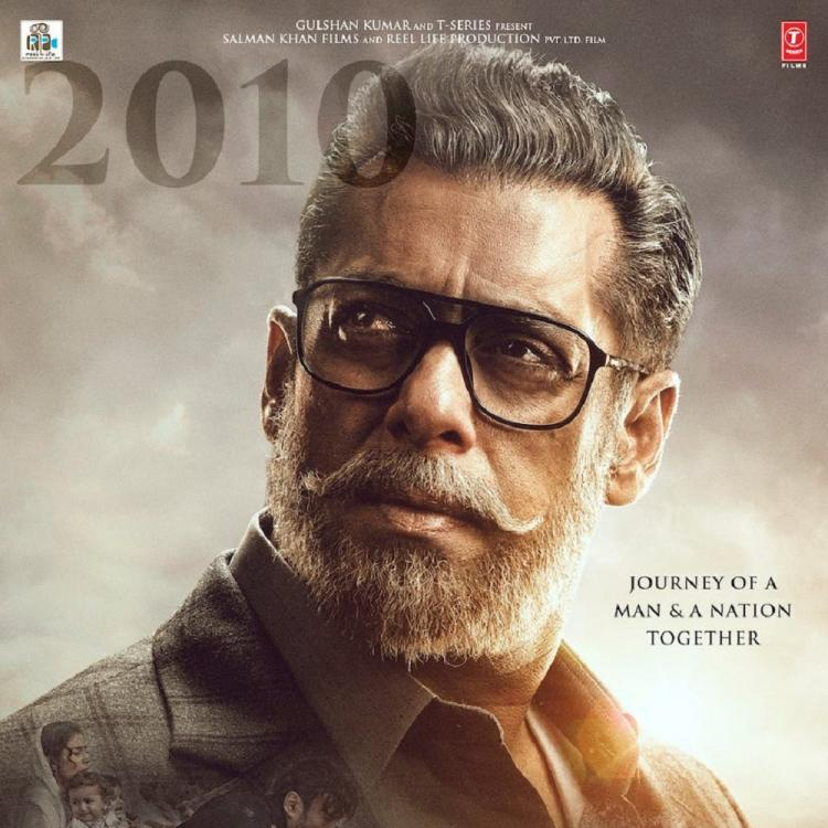 Bharat First Poster: Salman Khan for the first time goes grey; promises a colourful journey