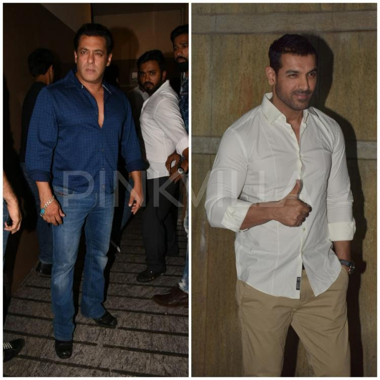 Photos,john abraham,salman khan