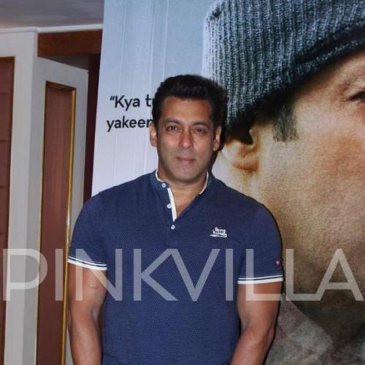 Salman Khan meeting visually impaired people post the wrap up of Bharat is winning hearts; WATCH