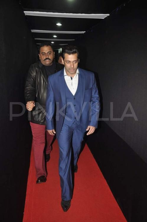Salman Khan at the Filmfare Awards 2014