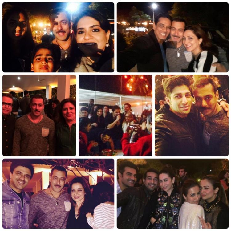 Check Out Inside Pictures from Salman Khans Birthday Bash