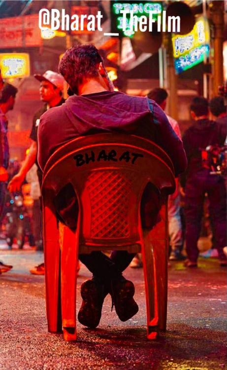 Bharat: Salman Khan chills like a boss in this BTS still; don't miss his grey stubble