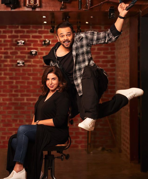 Rohit Shetty, Farah Khan collaborate for action-comedy