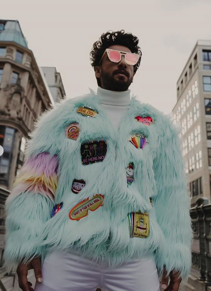 Celebrity Style,manish arora,Ranveer Singh,monsters inc