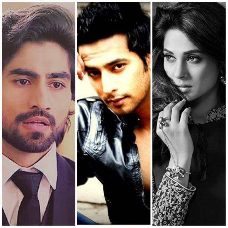 Image result for jennifer winget with sehban and harshad