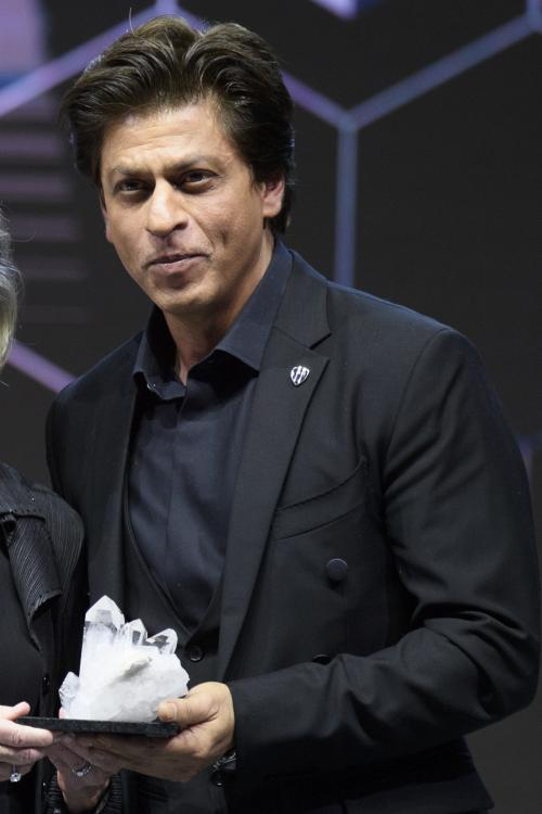 Image result for shahrukh khan awards to world economic forum