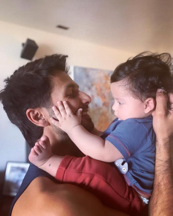 Shahid Kapoor shares an adorable picture of Zain Kapoor; calls him his 'sun'