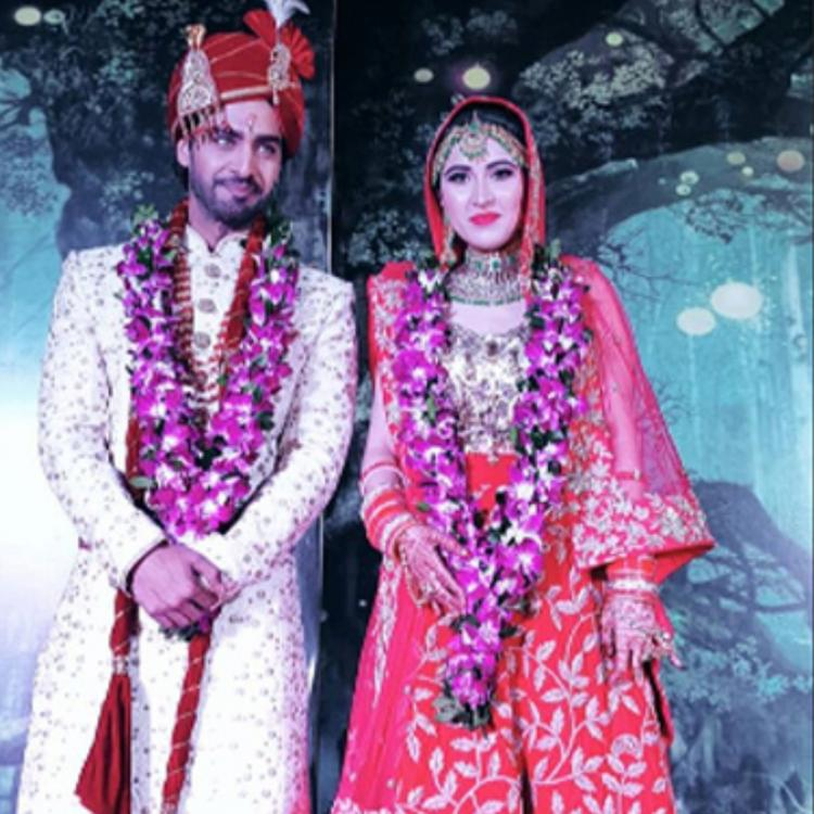 Sheena Bajaj and Rohit Purohit are NOW man and wife; check out their first pics and videos of the newlyweds