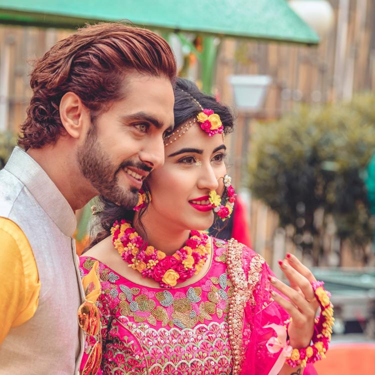 Sheena Bajaj and Rohit Purohit's mehendi and haldi pictures look straight out of a fairytale; see pics