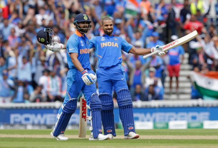 India vs Australia, ICC World Cup 2019: Twitteratti reacts to Shikhar Dhawan's century, have a look