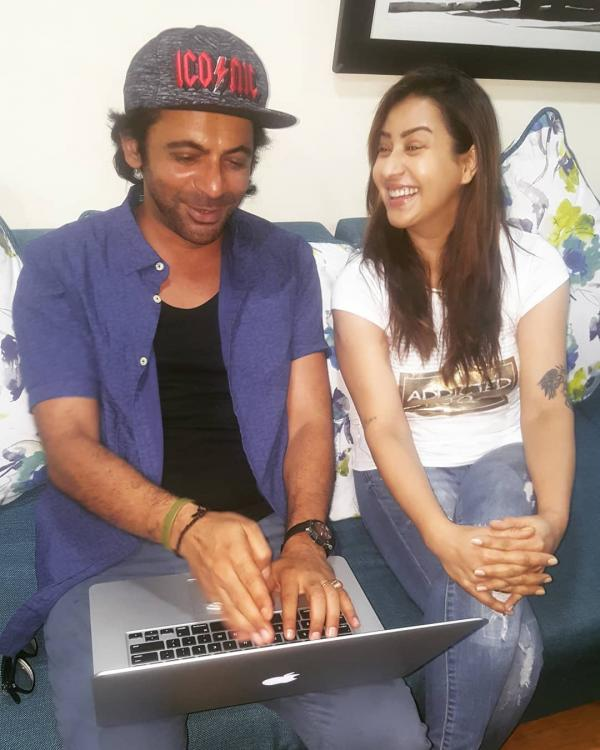 Sunil Grover,Shilpa Shinde,photos