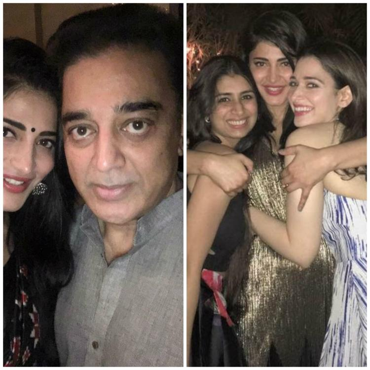 This Video Of Shruti Haasan Jamming With Father Kamal: Check Out: Shruti Haasan Celebrates Birthday With Daddy