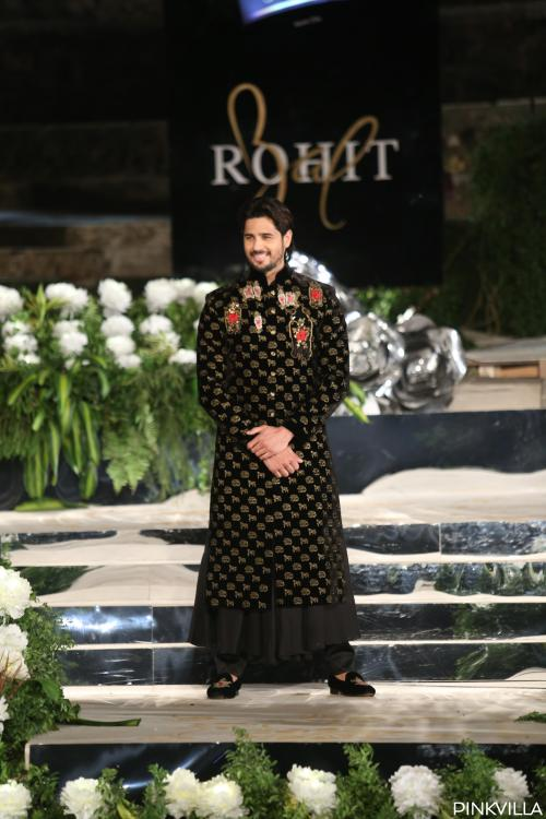 VIDEO: Sidharth Malhotra turns showstopper for designer Rohit Bal, but a dog steals the show
