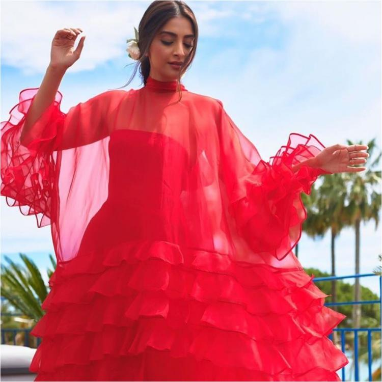Cannes 2019: Sonam Kapoor looks ravishing in red as she soaks in some sun at the French Riviera