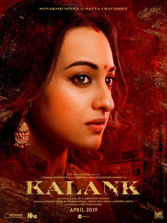 Sonakshi Sinha's FIRST LOOK as Satya in Kalank epitomizes grace and integrity