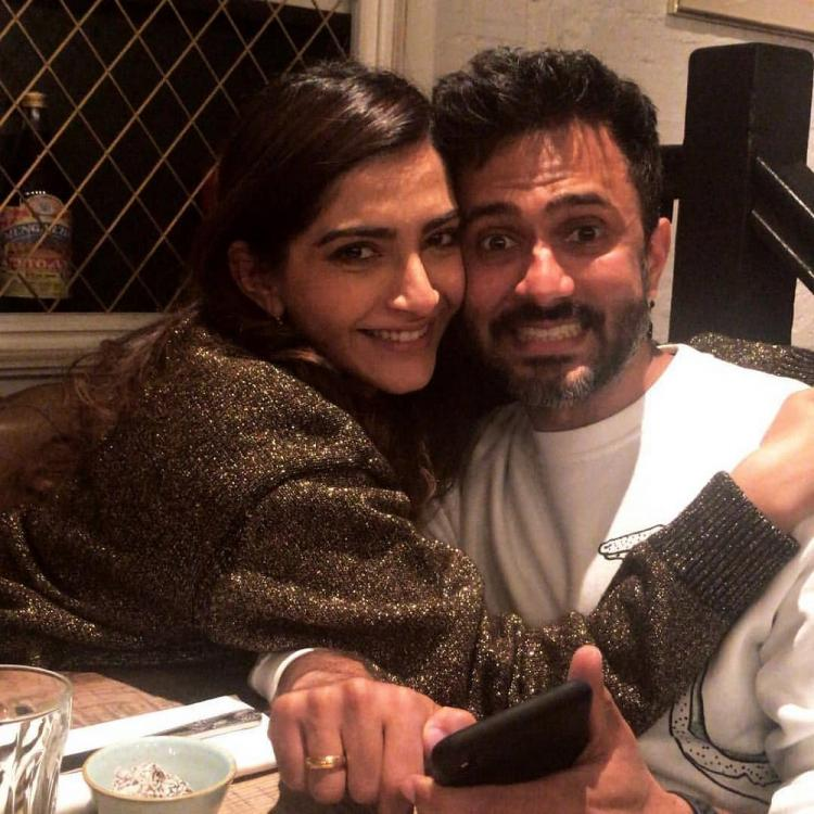 Sonam K Ahuja and Anand Ahuja's latest photo is a proof that they are the goofiest couple in Bollywood