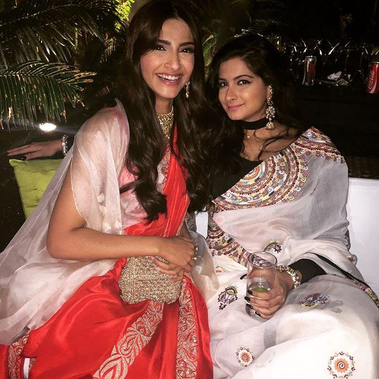 kapoor sisters sonam and rhea are at their traditional