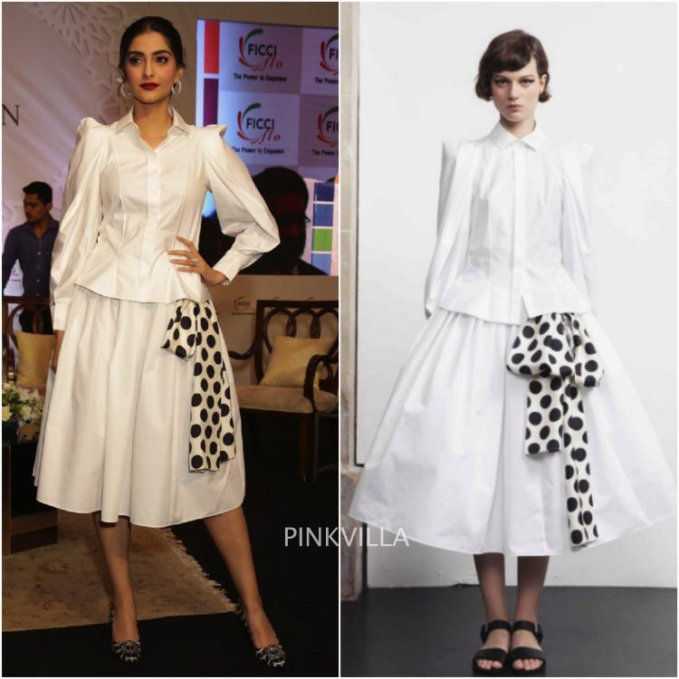 Sonam Kapoor in Dice Kayek for FICCI event