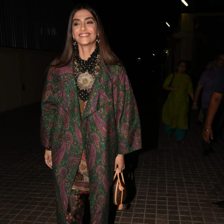 PHOTOS: Sonam Kapoor steals the show like a perfect diva at the special screening of India's Most Wanted