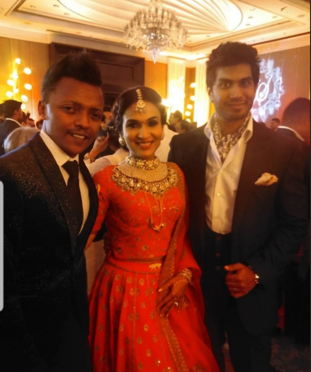 Inside Soundarya Rajinikanth and Vishagan Vanangamudi's royal wedding reception