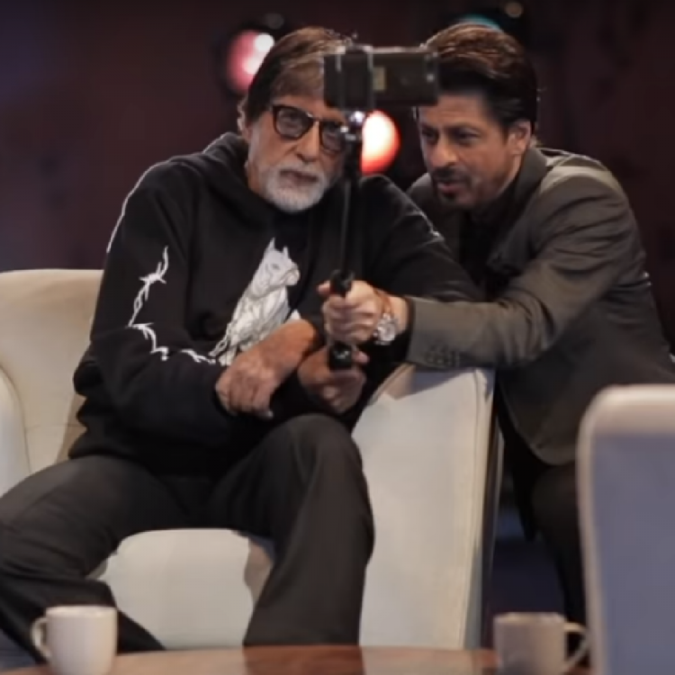 Amitabh Bachchan & Shah Rukh Khan's camaraderie in THIS video from Badla Promotions is beyond adorable; WATCH
