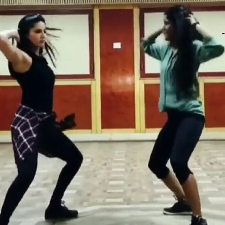 Sunny Leone fun dance to Sapna Choudhary's Teri Aankhya Ka Yo Kajal is going viral; WATCH VIDEO