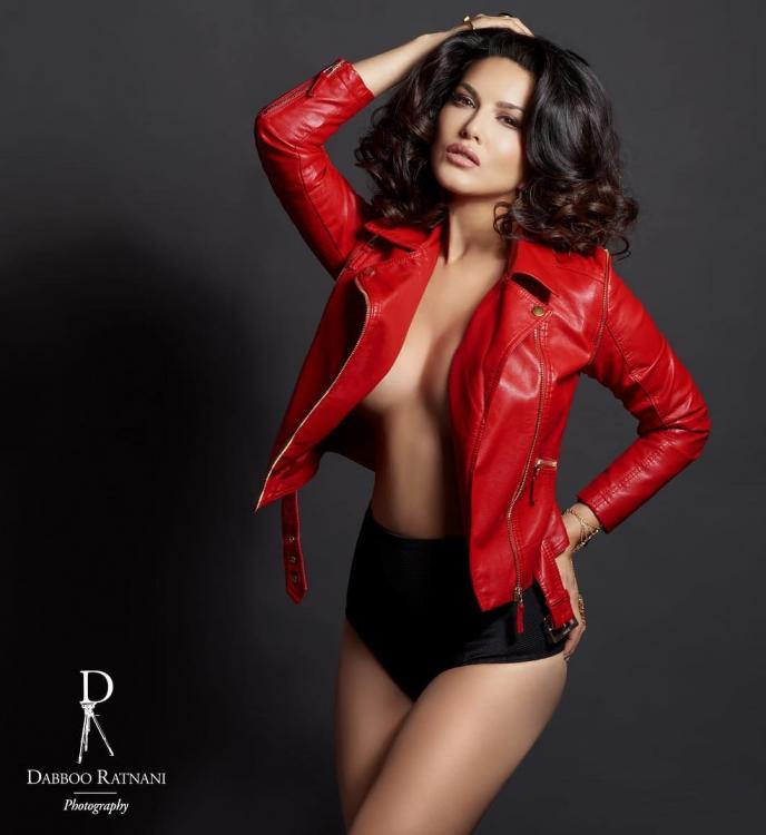 Sunny Leone oozes oomph and sensuality on Dabboo Ratnani's 2019 calendar