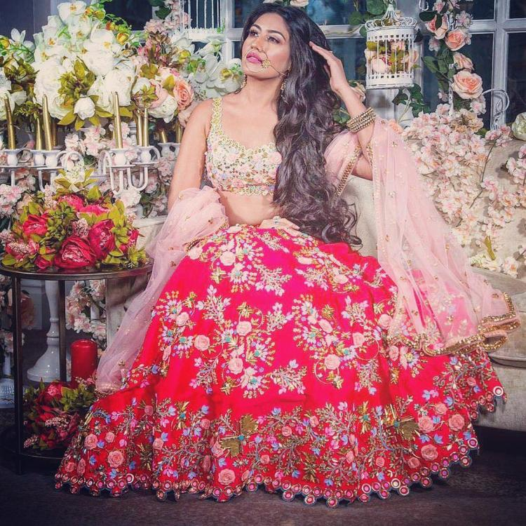 Surbhi Chandna looks ethereal in this bridal avatar and we can't get our eyes off her