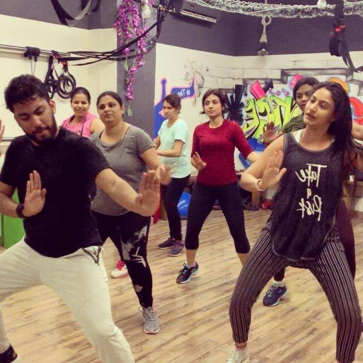 Surbhi Chandna's Zumba workout video is full of fun and fitness motivation