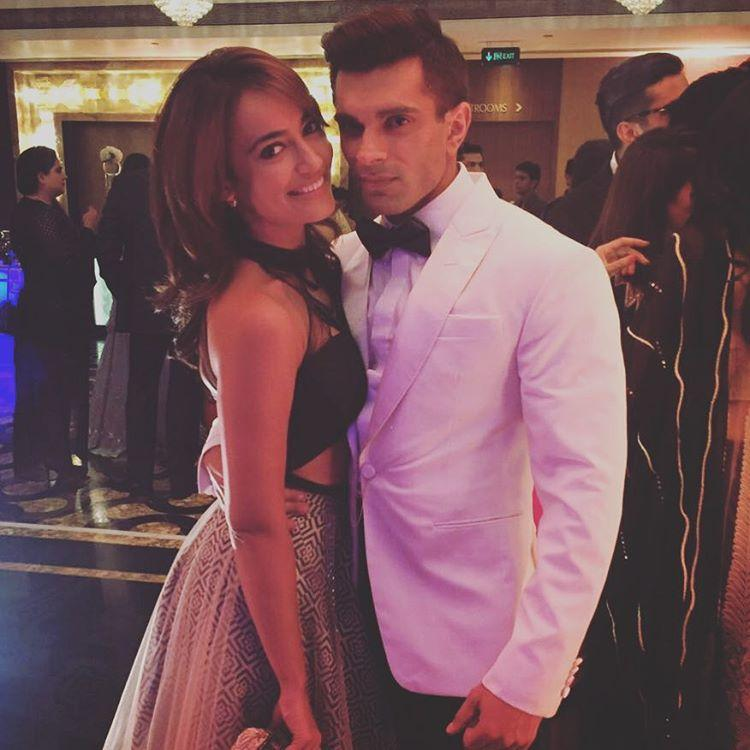 Photos Monkey Wedding Karan Bipasha Reception Surbhi Jyoti Instagram