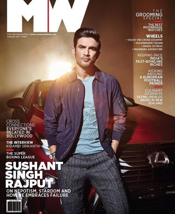 Image result for magazine covers sushant singh rajput
