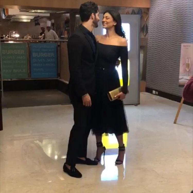 Sushmita Sen's 'jaan' Rohman Shawl has always got her back and THIS video is proof