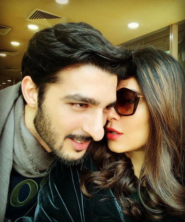 Sushmita Sen posted a loved-up picture with boyfriend Rohman Shawl on Instagram